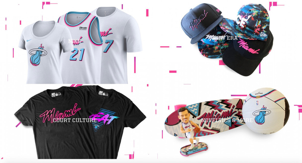 online store 0ff61 c479f Miami Heat – Vice Collection » Withers & Co