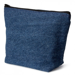 Denim Cosmetic Bag