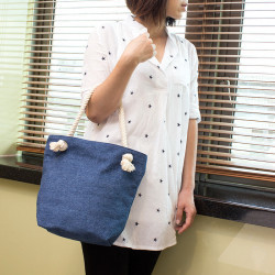 Denim Rope Hand Bag