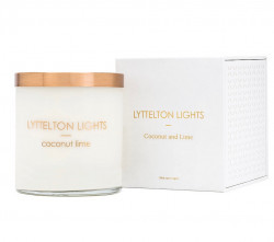 Coconut & Lime Lyttelton Lights Candle