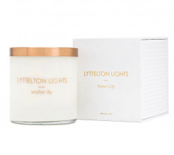 Water Lily Lyttelton Lights Candle