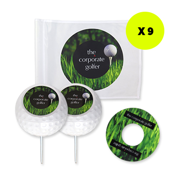 Corporate Golf Day Signage Package - 18 holes