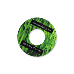 Message Discs - Inside of Golf Hole