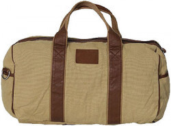 URBAN EDGE CANVAS DUFFLE