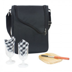WINE AND CHEESE COOLER BAG