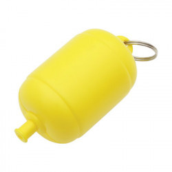 FLOATING BUOY KEYRING – YELLOW