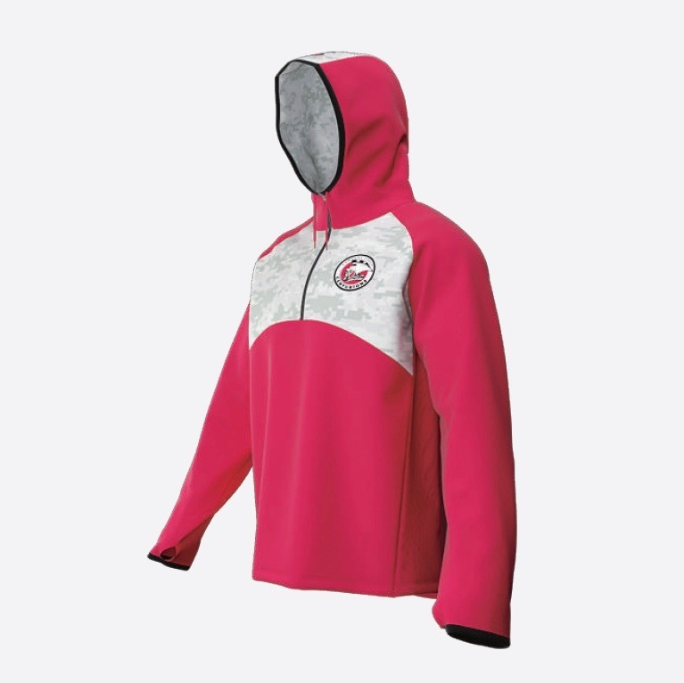 Docker QZ Hooded Warm up Hybrid | Withers & Co | Sublimated