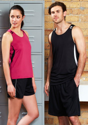 Mens Flash Singlet