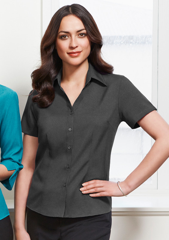 Ladies Plain Oasis Short Sleeve Shirt | Promotional Products NZ | Withers & Co