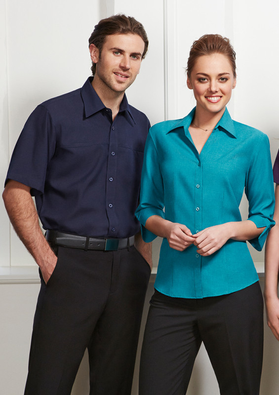 Ladies Plain Oasis 3/4 Sleeve Shirt | Withers & Co | Promotional Products NZ