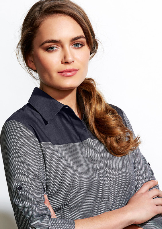 Ladies Havana 3/4 Sleeve Shirt | Withers & Co | Promotional Products NZ