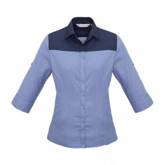 Ladies Havana 3/4 Sleeve Shirt