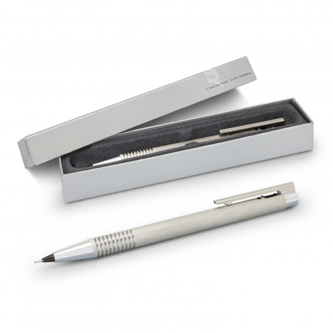 Lamy Logo Pencil - Brushed Steel | Branded Corporate Pens NZ | Branded High End Pens NZ
