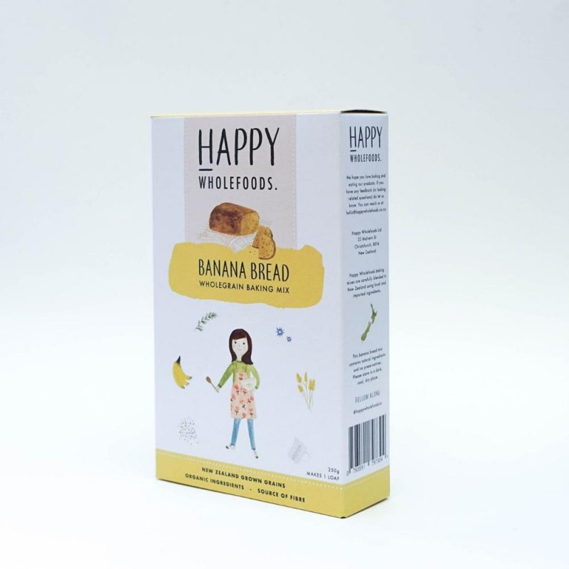 Happy Wholefoods Banana Bread | NZ Made Gifts | Corporate Gifts NZ