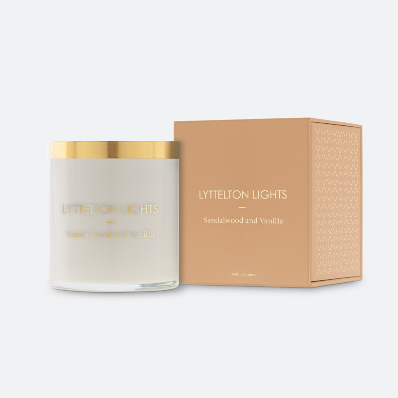 Lyttelton Lights Candle | Corporate Gifts NZ | Withers & Co.