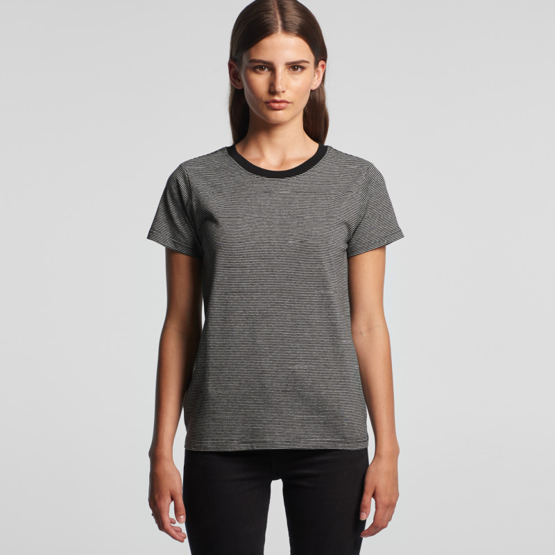 Women's Line Stripe Tee | AS Colour | Withers and Co