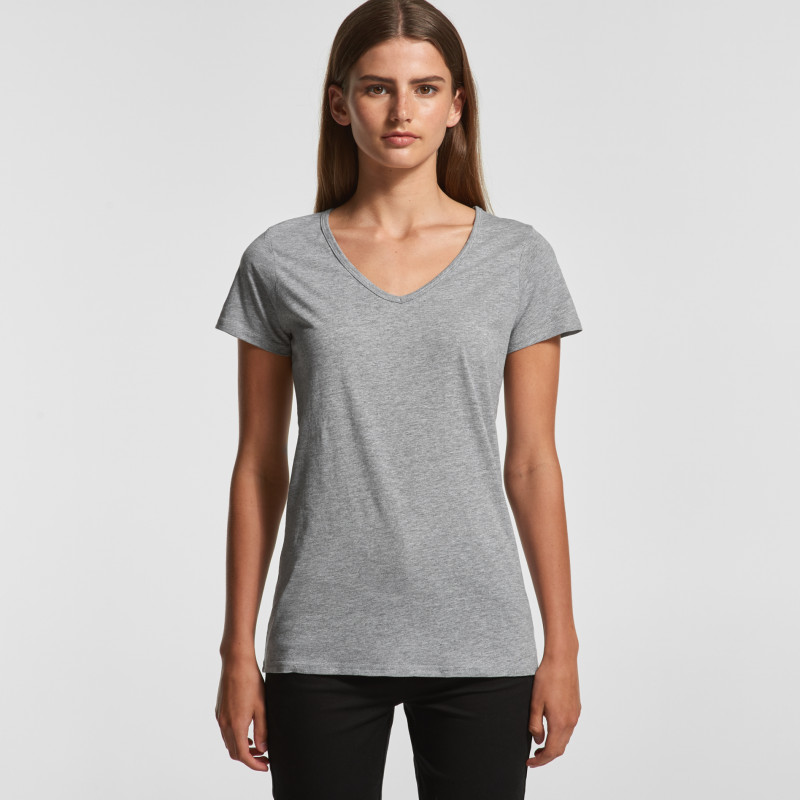Bevel V-Neck Tee | AS Colour | Withers and Co