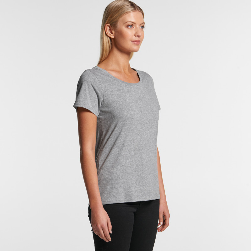 Women's Shallow Scoop Tee | AS Colour | Withers and Co