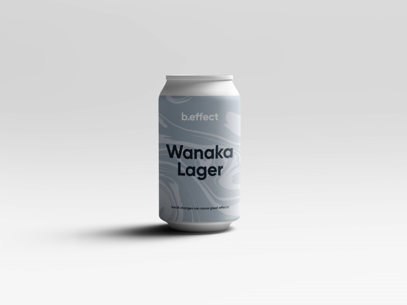 Wanaka Lager | NZ Made Gift | Custom Beer NZ