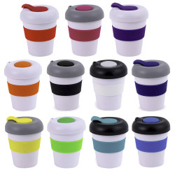 Plastic Karma Kup - Smooth Lid With Dome
