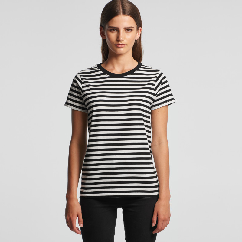 Women's Maple Stripe Tee | AS Colour | Withers and Co